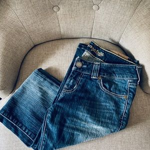 American Eagle bootcut jeans!